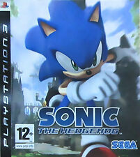 Sonic the Hedgehog (Sony PlayStation 3, 2007) - North American Version