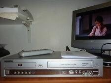 SAMSUNG SV-DVD55 VIDEOREGISTRATORE COMBINATO DVD VHS+ISTRUZIONI+TELECOMANDO