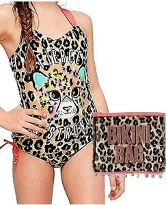 Details about  /NWT JUSTICE Girl Unicorn Mermaid Studded One Piece Swimsuit 18 20 Burgundy Gold