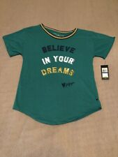Tommy Hilfiger Girls Crew Neck Short Sleeve Shirt Green Size XL 16 New With Tags