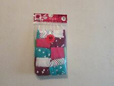 NTW~ 10 TOTAL GIRL (JC PENNY) SOLID/ PRINT COTTON PANTIES SIZE 4.  RN 93677