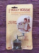 Holly Hobbie 70's Collectors Miniatures Metal Coffee Grinder #6