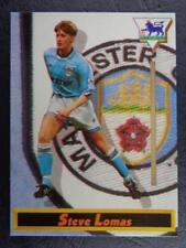 MERLIN INGLESAS PREMIER LEAGUE 1993-1994 - Steve LOMAS Manchester City #55