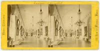 Stereo, France, Château de Versailles, Trianon, galerie, circa 1880 Vintage ster