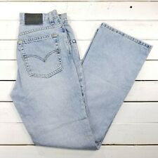 Vintage SilverTab Flare Jeans Womens 9 28x32 Light Wash High Waist Mom USA J134
