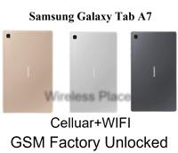"""Samsung Galaxy Tab A7 10.4"""" 2020 T505 32GB 3GB GSM Unlocked WiFi+Cellular (NEW)"""