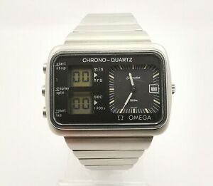 Omega 1978 Montreal Albatross CHRONO-QUARTZ Olympic Games 196.0052 c1611 Watch