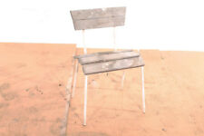 alter Stuhl Sitz Chair old vintage Garten Werkstattstuhl