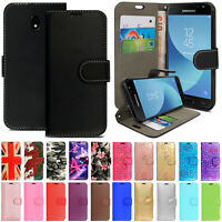 Case for Samsung Galaxy J7 Core J5 J3 2017 Leather Wallet Magnetic Flip Cover