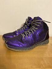 Adidas D Rose 3 Nightmare Before Christmas Xmas Purple Glow In Dark Size 10