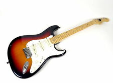 06-07 FENDER STRATOCASTER ELECTRIC 6-STRING FIREBURST GUITAR MADE IN USA
