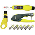 Klein Coax Cable Tester/Cable Installation Kit VDV002-818 New