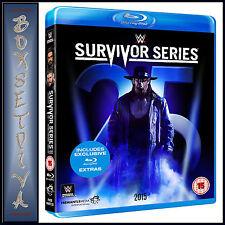 WWE: SURVIVOR SERIES 2015    **BRAND NEW BLU-RAY**