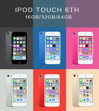 New Apple ipod Touch 6th 16/32/64GB MP3 Player-All Colors-Sealed 90day warranty