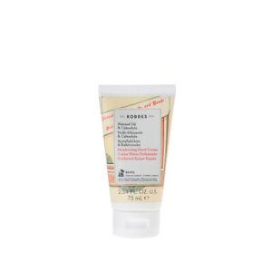 Korres Moisturising Hand Cream with Organic Almond Oil & Calendula , 75ml