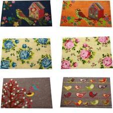 Paillassons, tapis de sol antidérapant à motif Floral pour la maison