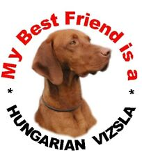 2 Hungarian Vizsla Car Stickers By Starprint - Auto combined postage