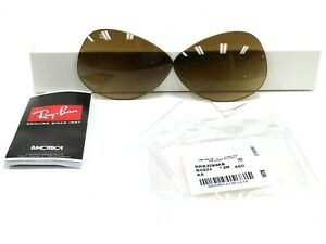 AUTHENTIC RAY-BAN RB3293 001/2L 63MM REPLACEMENT BROWN LENSES