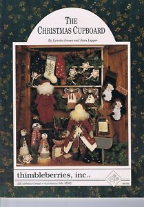 Patchwork & Quilting THE CHRISTMAS CUPBOARD Thimbleberries Dolls & Appliques