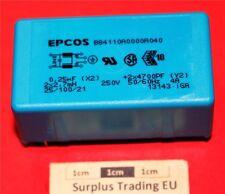 Epcos B84110-A 4A 250 Vac Through Hole Power Line Filter