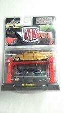 M2 MACHINES 1949 MERCURY AUTO-LIFT 2 CARS PREMIUM EDITION RELEASE 3 DIECAST