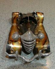 metal scrap art car