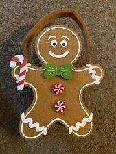 Gingerbread Man Felt Bag - BNWT