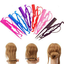 4Pc/Set Hair Twist Styling Clip Stick Bun Maker Braid Tools Hair for Women LADY