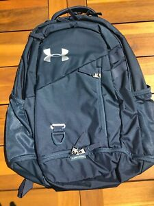 Under Armour Hustle 4.0 Backpack Unisex OSFA 1342651 Blue
