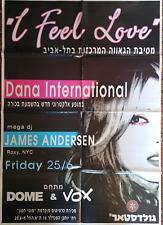 DANA INTERNATIONAL-giant  poster 100*70 cm- gay pride parade tel aviv