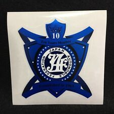 JDM Japan Car Inspection JAF Sticker Automobile Federation 10th Year Member only