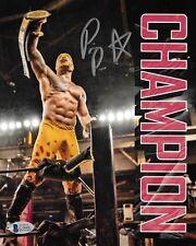 Prince Puma Signed 8x10 Photo BAS COA Ricochet Pro Wrestling Lucha Underground 4