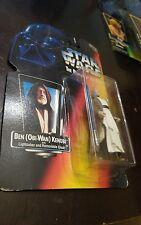 1995 Star Wars POTF Orange card BEN ( OBI-WAN)  KENOBI NIP