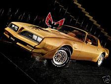 1978 Pontiac FIREBIRD TRANS AM, GOLD, Refrigerator Magnet, 40 MIL