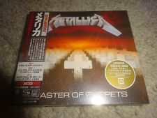 METALLICA/'MASTER OF PUPPETS' *JAPAN 2017 NEW/SEALED/REMASTER 3 SHM-CD SET*