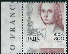 ** Italia 1999: Donna nell' Arte € 0,41 [ Varietà Decentrata Verticalmente ]
