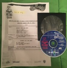 Tom Jones Live From The House of Blues, CBS Radio Show #14 with Cue Sheet