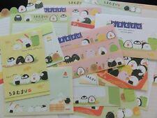 Sushi Rice Ball Letter Set Writing paper envelope stationery cute kawaii san-x
