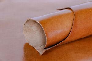 Full Grain Goat Honey Leather Whole Skin Veg Tan Leather Crafts Workshop DIY