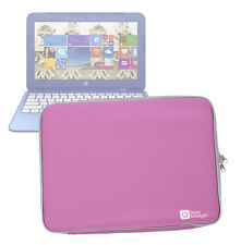 Pink Water/Impact-Resistant Neoprene Case/Pouch/Cover for HP Stream 11