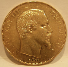 France 1855A Gold 50 Francs Circulated Napoleon III