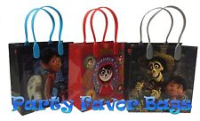 12 pc Disney Pixar COCO Party Favor Bags Candy Treat Birthday Gift Toy Loot Sack