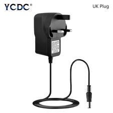UK Power Supply Adapter Wall Charger for LED Fair Lights Lamp 110-240V to DC 12V