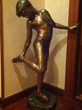 Vendo scultura in bronzo.di ANNIBALE DE LOTTO finemente cesellata