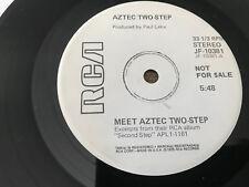 "Meet Aztec Two-step DJ Promo 7"" EP 33"