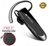 New Bee New Link Bluetooth Headphones 5.0 Wireless Earbuds Handsfree Headset