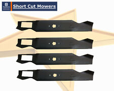 "MTD 42"" ride on mower blades (6 point star pattern)  HEAVY DUTY BLADES x 4"
