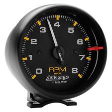 """Auto Meter Autogage 2300 Tachometer Tach 8000 RPM Black Pedestal Mount 3 3/4""""p"""