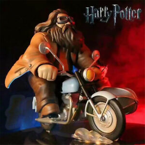 Harry Potter and Rubeus Hagrid Figure Model Toy 16CM New Gift