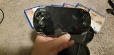 Sony PS Vita PCH-1101 system with Charger, 6 games and 16gb memory, FF, COL, TMK